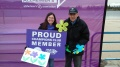 Walk to End Alzheimer's Gina and Henry Akao