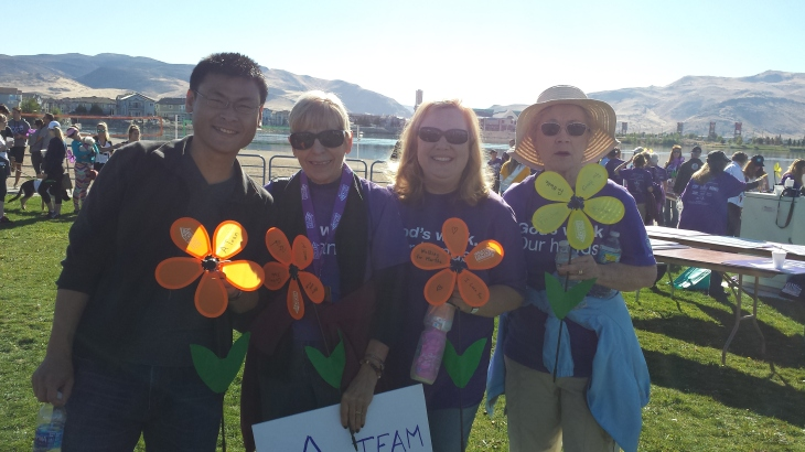 Walk to End Alzheimer's 2016